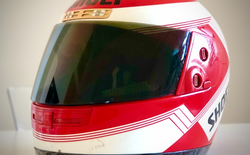 Il casco che mi avrebbe dovuto cambiare lavita